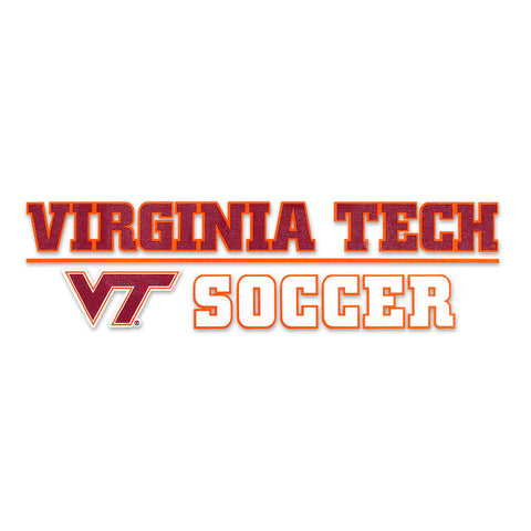 Virginia Tech Sports Decal: Soccer