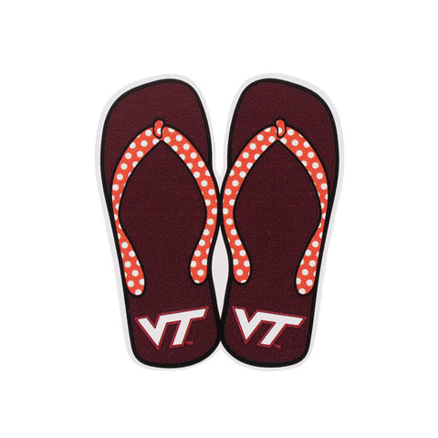 Virginia Tech Flip Flop Refrigerator Magnet