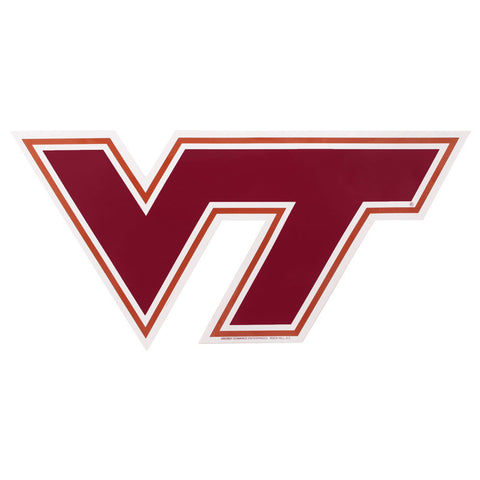 Virginia Tech Logo Decal: Large