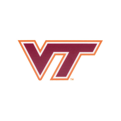 Virginia Tech Logo Static Cling