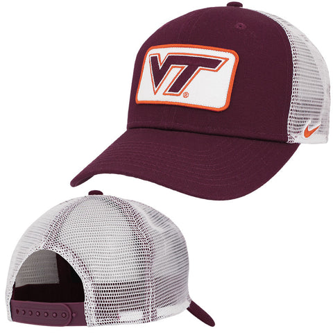 Virginia Tech Classic 99 Patch Trucker Hat by Nike