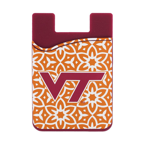 Virginia Tech Floral Phone ID Case