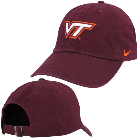 Virginia Tech Heritage 86 Logo Hat: Maroon by Nike