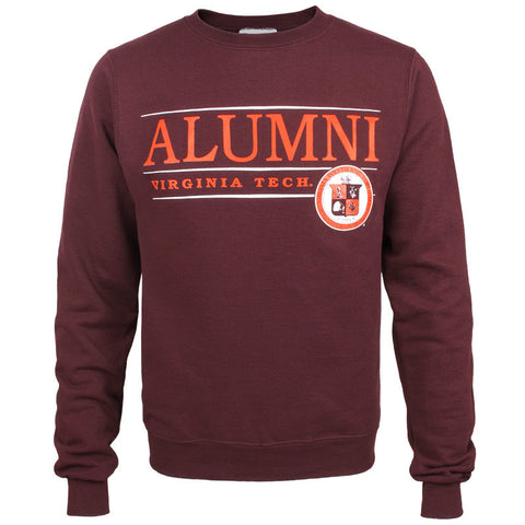 Virginia Tech Alumni Crew Sweatshirt by Champion