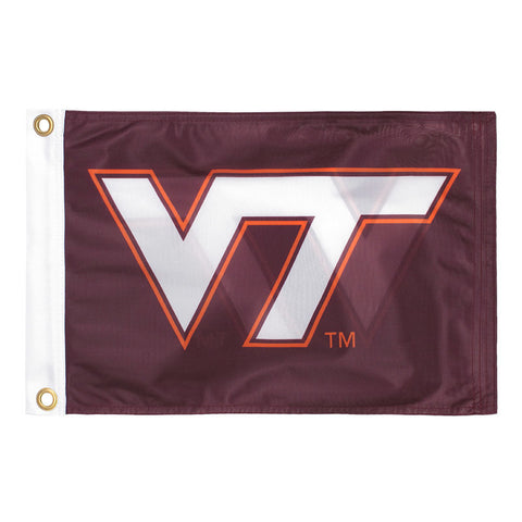 Virginia Tech Boat Flag