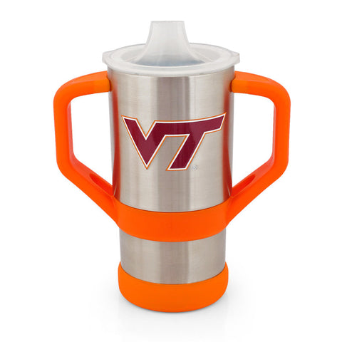 Virginia Tech Stainless Steel Sippy Cup