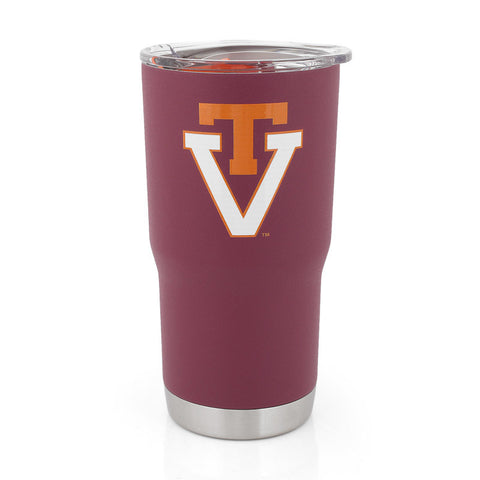 Virginia Tech Powder Coated Vault Tumbler 20 oz.