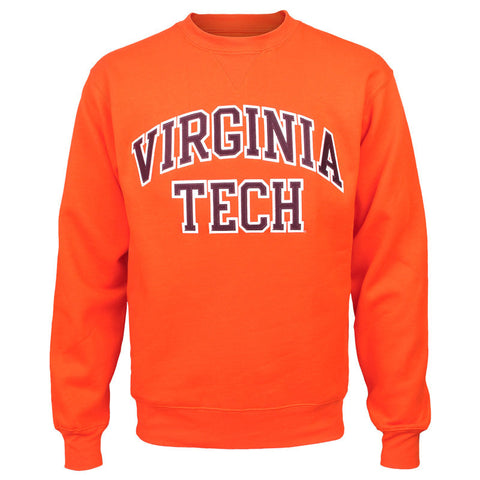 Virginia Tech Embroidered Twill Crew Sweatshirt: Orange by Gear