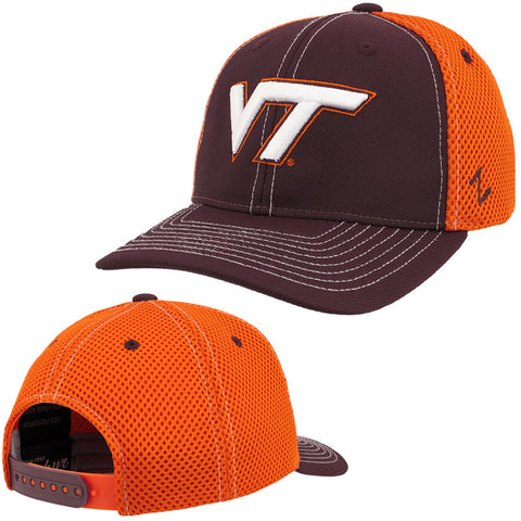 Virginia Tech Youth Chute Trucker Hat by Zephyr