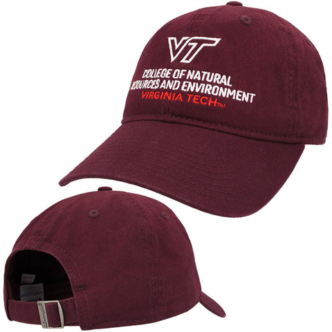 Virginia Tech College of Natural Resources and Environment Hat by Champion