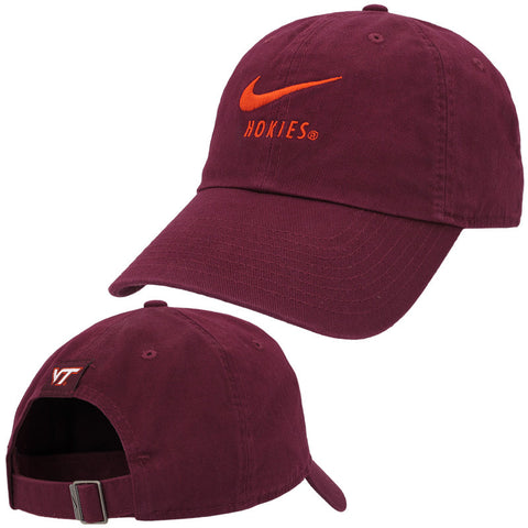 Virginia Tech Hokies Heritage 86 Swoosh Hat by Nike