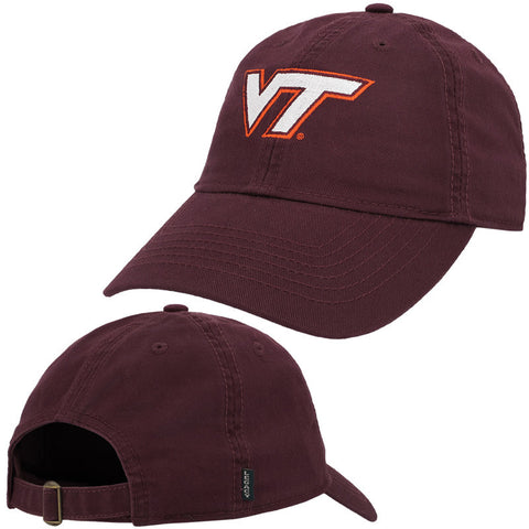 Virginia Tech Women's Logo Hat: Maroon by Legacy