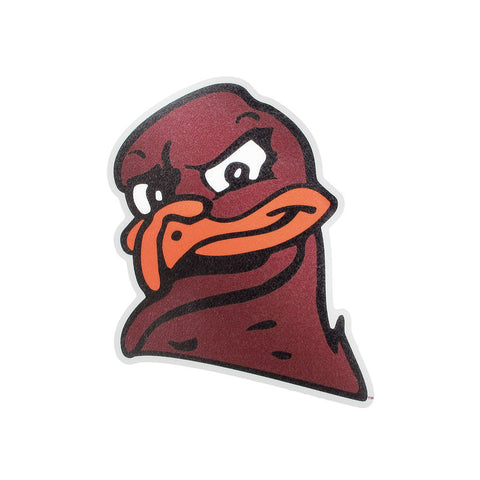 Virginia Tech Hokie Bird Head Reflective Decal
