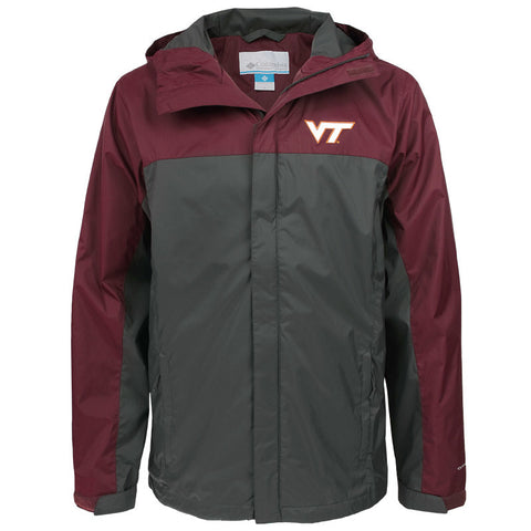 Virginia Tech Glennaker Storm Rain Jacket by Columbia
