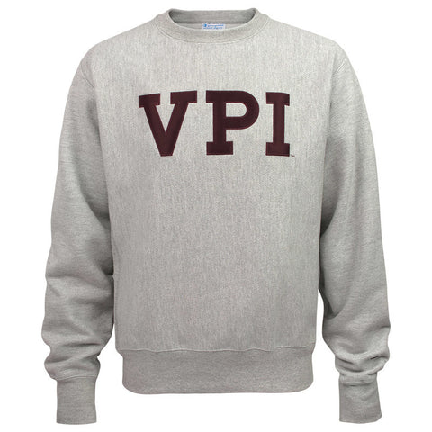 Virginia Tech Vault VPI Reverse Weave Crew Sweatshirt by Champion