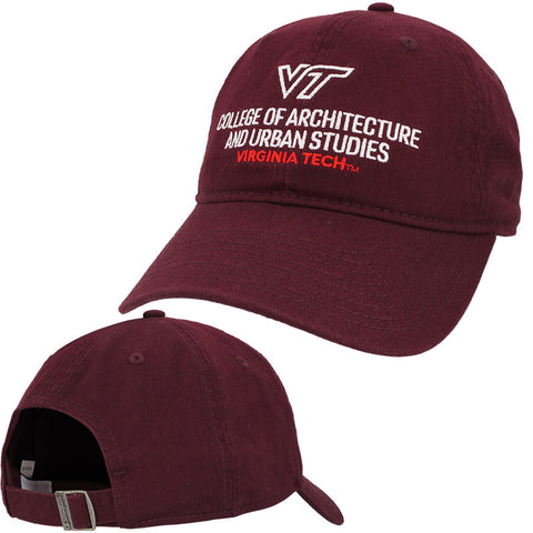 Virginia Tech College of Architecture and Urban Studies Hat by Champion