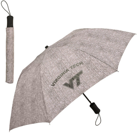 Virginia Tech Tweed Umbrella