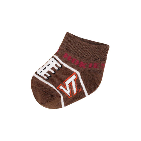 Virginia Tech Baby Football Socks