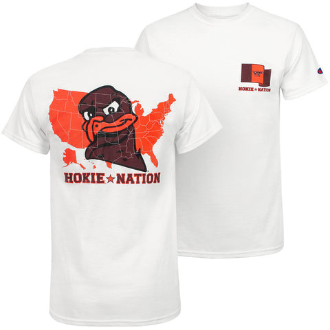Virginia Tech Hokie Nation T-Shirt by Champion