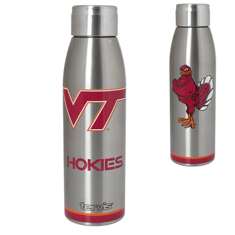 Virginia Tech Stainless Steel Slim Water Bottle by Tervis Tumbler