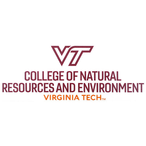 Virginia Tech College of Natural Resources and Environment Decal