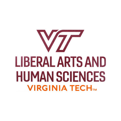 Virginia Tech College of Liberal Arts and Human Sciences Decal