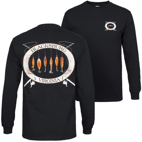Blacksburg Lures Long Sleeved T-Shirt