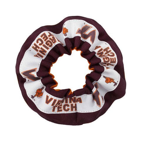 Virginia Tech Ribbon Hair Scrunchie