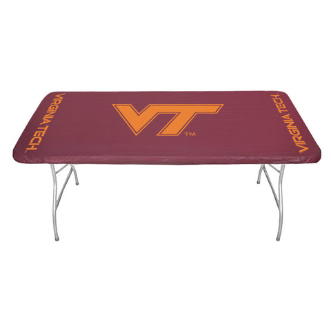 Virginia Tech Fitted Table Cover