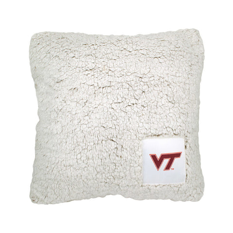 Virginia Tech Frosty Fleece PIllow