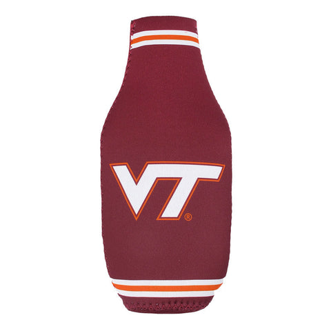 Virginia Tech Zip-Up Bottle Coozie