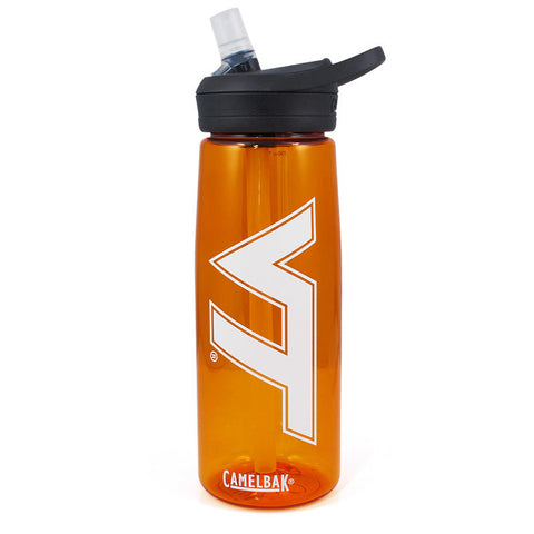 Virginia Tech Eddy Water Bottle by Camelbak: Orange