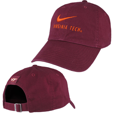 Virginia Tech Heritage 86 Swoosh Hat by Nike