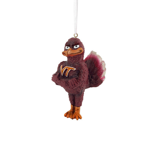 Virginia Tech Hokie Bird Ornament