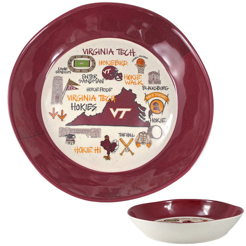 Virginia Tech Marks Melamine Bowl
