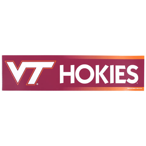 Virginia Tech Bumper Sticker