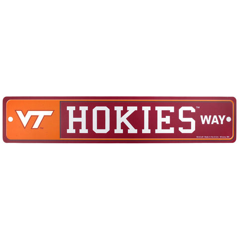 Virginia Tech Zone Street Sign