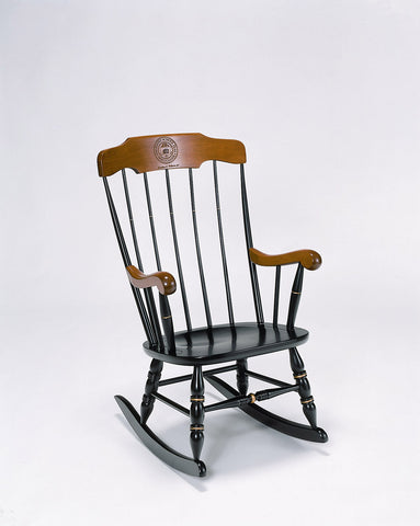Virginia Tech Boston Rocking Chair: FREE GROUND SHIPPING!