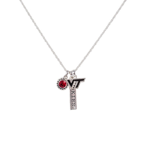 Virginia Tech Trifecta Necklace