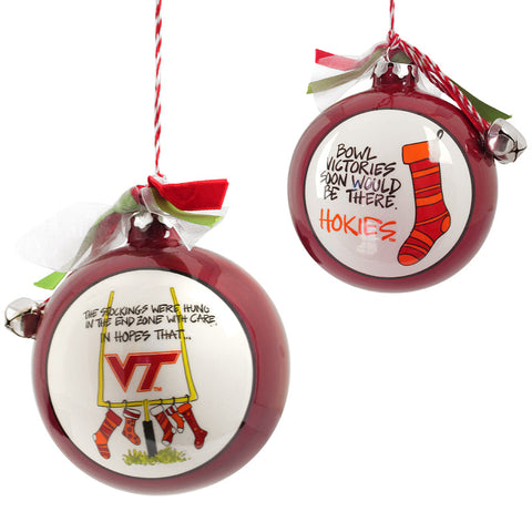 Virginia Tech Stocking Ornament