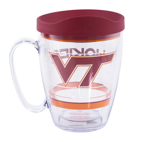 Virginia Tech Logo Mug with Lid by Tervis Tumbler