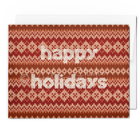 Holiday Sweater Card