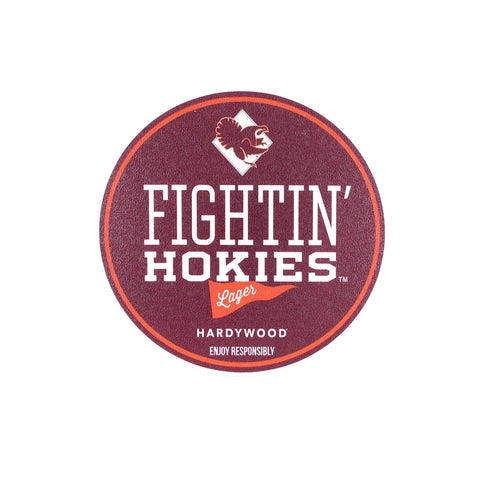 Virginia Tech Fightin' Hokies Lager Decal