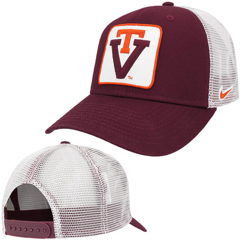 Virginia Tech Classic 99 Vault Patch Trucker Hat by Nike