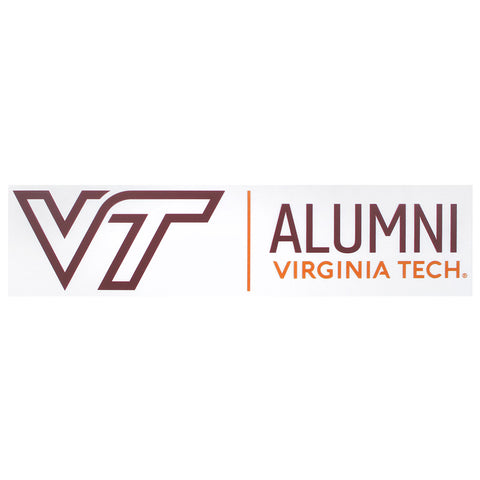Virginia Tech  Alumni  Static Cling