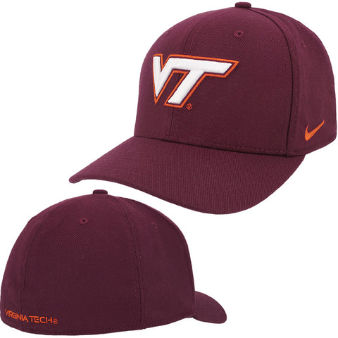 Virginia Tech Classic Swoosh Flex Hat by Nike