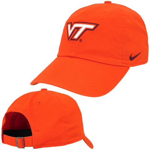 Virginia Tech Heritage 86 Logo Hat: Orange by Nike