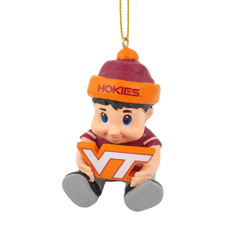 Virginia Tech Lil' Fan Ornament