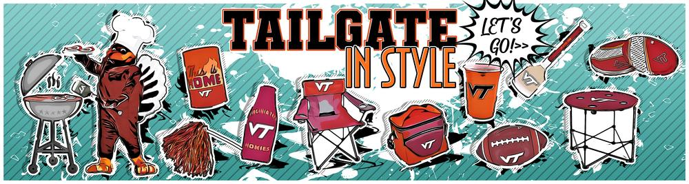 Shop Virginia Tech Tailgating and Homegaiting Accessories!