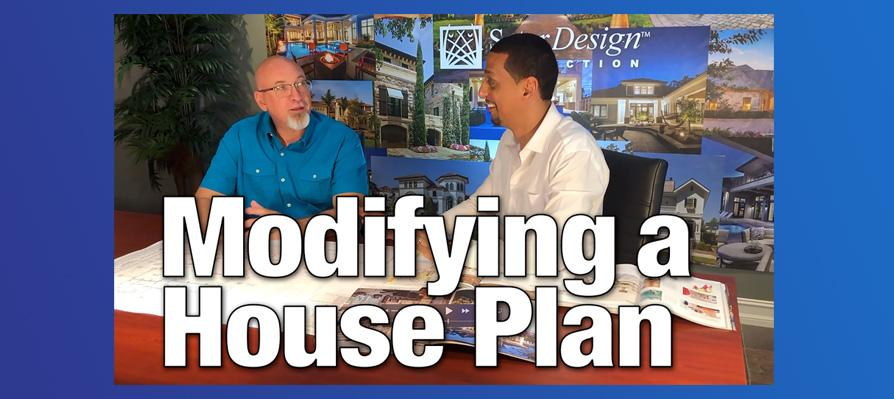 How to Modify A House Plan Video